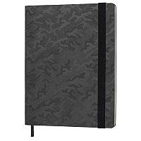 Бизнес-блокнот Tabby Biggy, гибкая обложка, в клетку, черный, Черный, -, 21228 35, фото 1