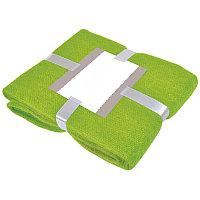 """Плед """"MOHAIR"""" с открыткой подарочной, Зеленый, -, 20314 15"""