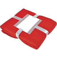 """Плед """"MOHAIR"""" с открыткой подарочной, Красный, -, 20314 08"""