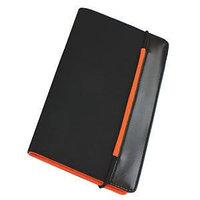 """Визитница """"New Style"""" на резинке  (60 визиток), Оранжевый, -, 9216 05"""