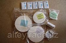 Фильтры обеззоленные, белая лента, D=7,0 см, упаковка 100 шт