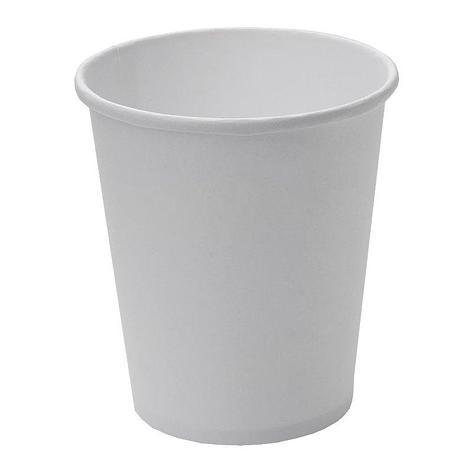 Стакан для холодных и горячих напитков, 0.185/0.205л, белый, 2000 шт, фото 2