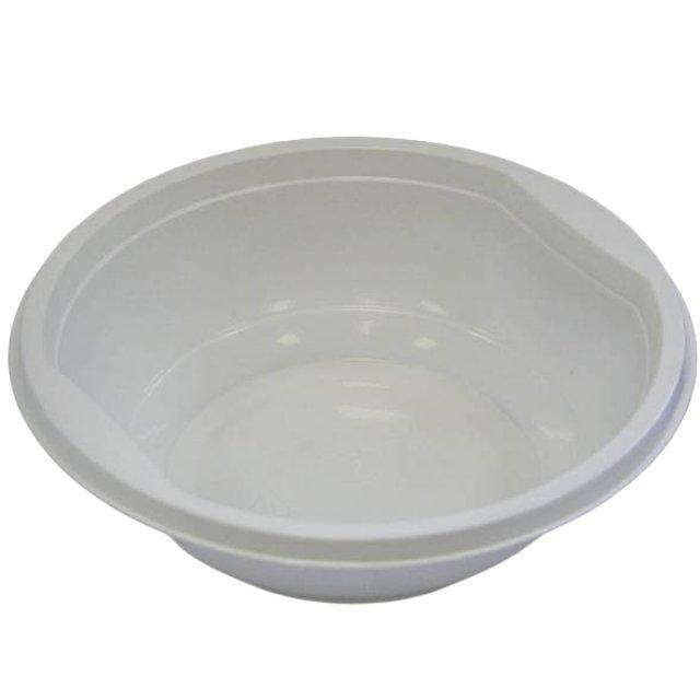 Тарелка глубокая 0.475л, белая, 1000 штук, 1000 шт