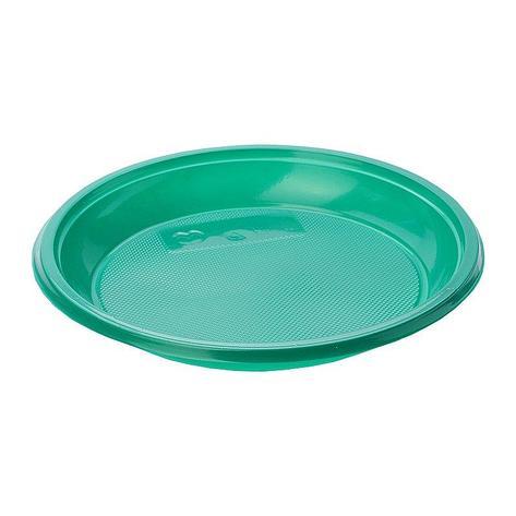 Тарелка дес., d 167мм, зелен., ПС, 1600 шт, фото 2