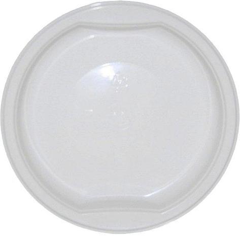 Тарелка пластиковая 0.2л, d 153мм, бел., ПП, 1000 шт, фото 2