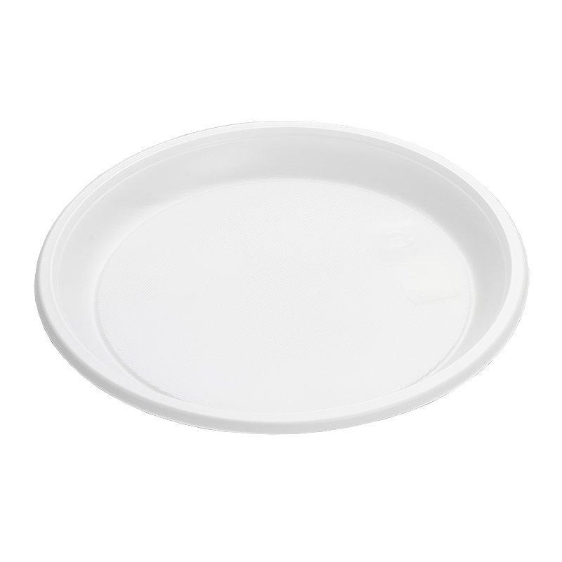 Тарелка, d 205мм, белая, 1200 штук, 1200 шт