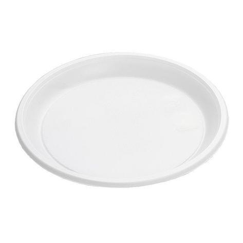 Тарелка, d 205мм, белая, 1200 штук, 1200 шт, фото 2
