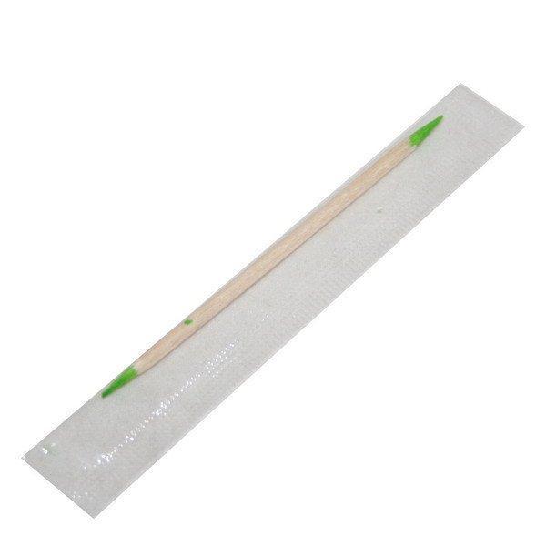 Зубочистки 65 мм., деревян. с ментолом, в инд. уп., 1000 шт