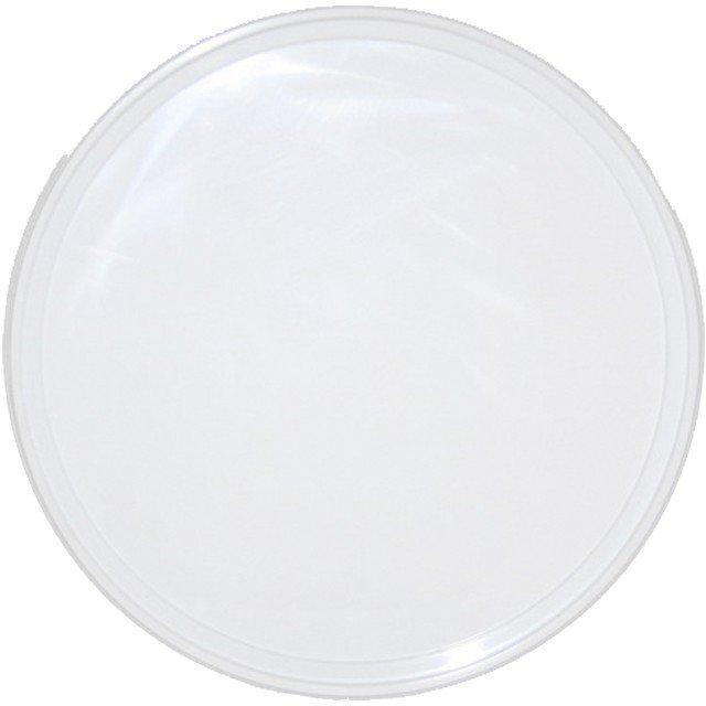 Крышка d-220, белая, ПП, 100 шт