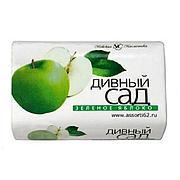 """Мыло туалетное """"Дивный сад"""" Зеленое Яблоко 90 г., 6 шт"""