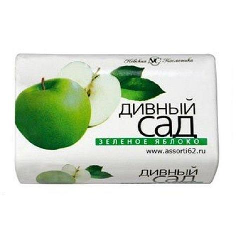 """Мыло туалетное """"Дивный сад"""" Зеленое Яблоко 90 г., 6 шт, фото 2"""