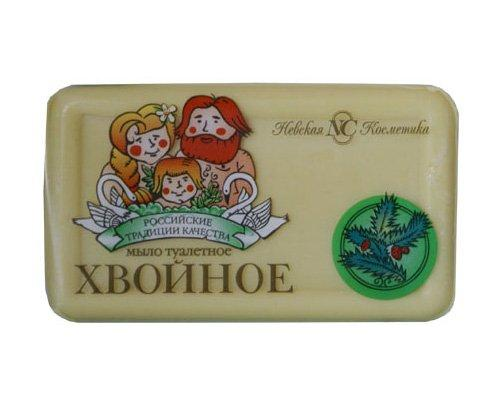 """Мыло туалетное """"Хвойное"""" 140 г, 4 шт"""