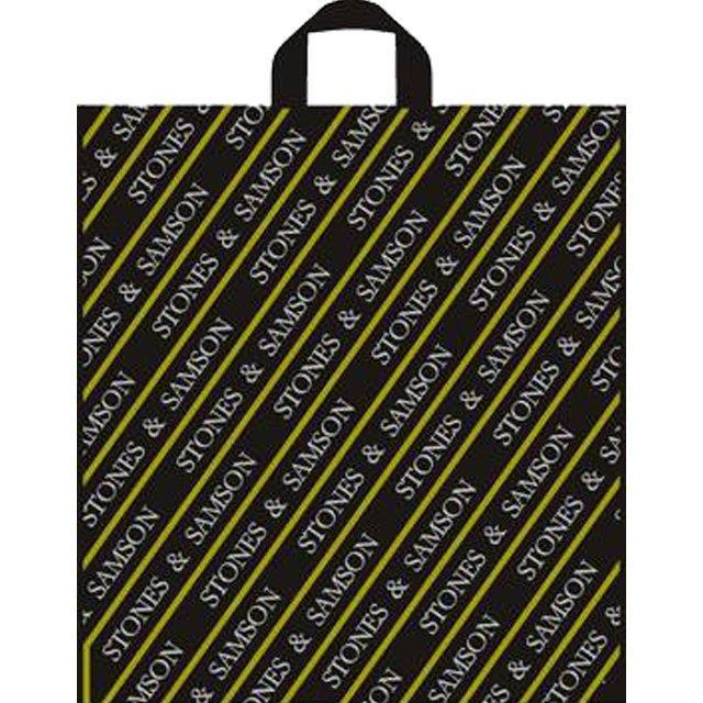 """Пакет (мешок) петля ПВД 475х430мм, 55мкм, """"Камни Самсона"""", 50 шт"""