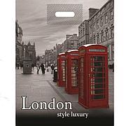 """Пакет (мешок) проруб. ПВД 38х48см, 50мкм, """"Лондон"""", 100 шт"""