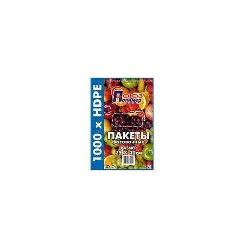 Пакет фасов. ПНД 25х40см  (евроуп.), 1000 шт, фото 2