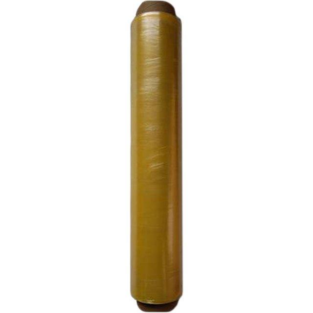 Плёнка ПЭ пищ. 300мм х 200м желтая, 9 мкм