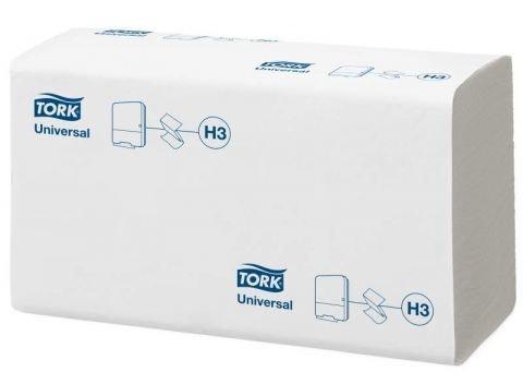 Листовые полотенца Tork Singlefold Universal сложения ZZ, бел.,1сл., 250 шт