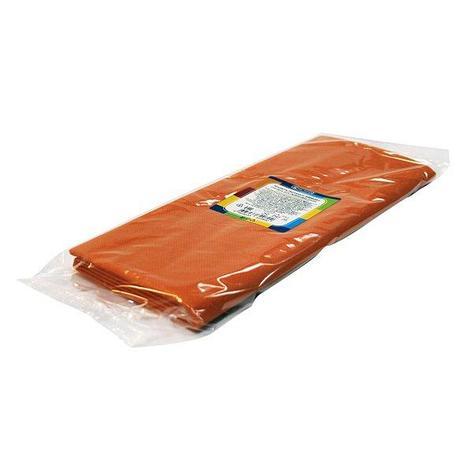 Скатерть 120х140см, оранж., спанбонд, фото 2