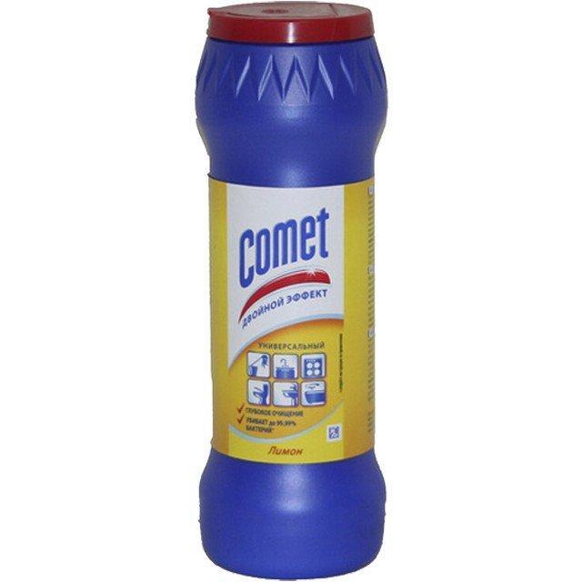 """Чистящий порошок """"СOMET Фрэш лимон """" (в банке) 0.475кг"""