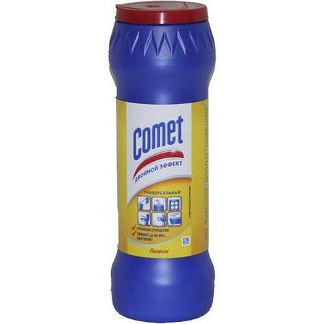 """Чистящий порошок """"СOMET Фрэш лимон """" (в банке) 0.475кг, фото 2"""