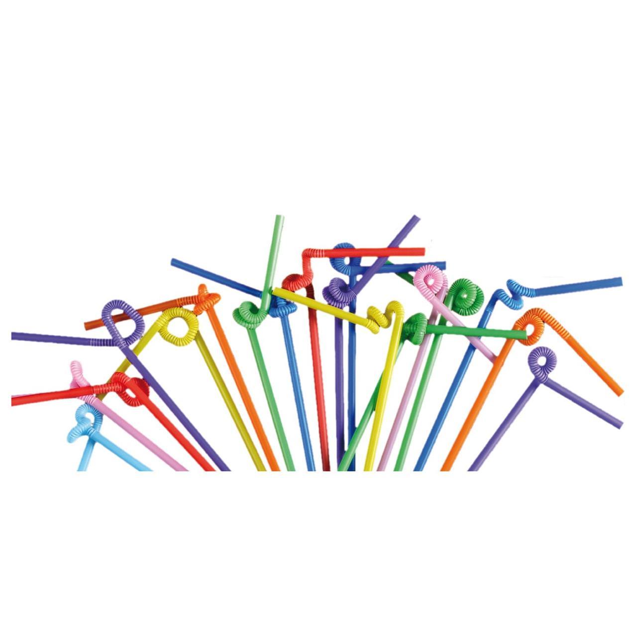 Трубочки д/коктейля с удлиненной гофрой d=6мм L=260мм, ПП, 40 шт