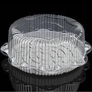 Крышка кругл. торт. 14,2л, внешн. d-454, h-164, внут. d-335, h-150  прозрачная, ОПС, 50 шт
