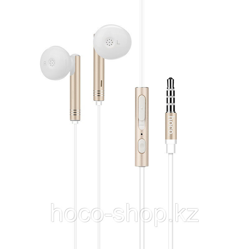 Проводные универсальные наушники M26 Zorun wired earphones, Gold