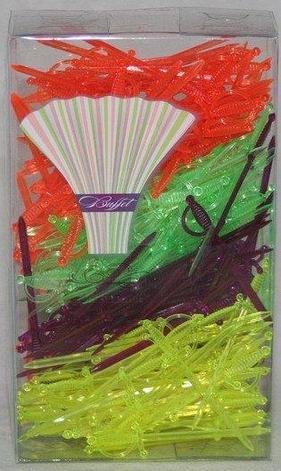 "Пика ""Меч"" 70 мм, (4-ре цвета, микс),ПС, 250 шт, фото 2"