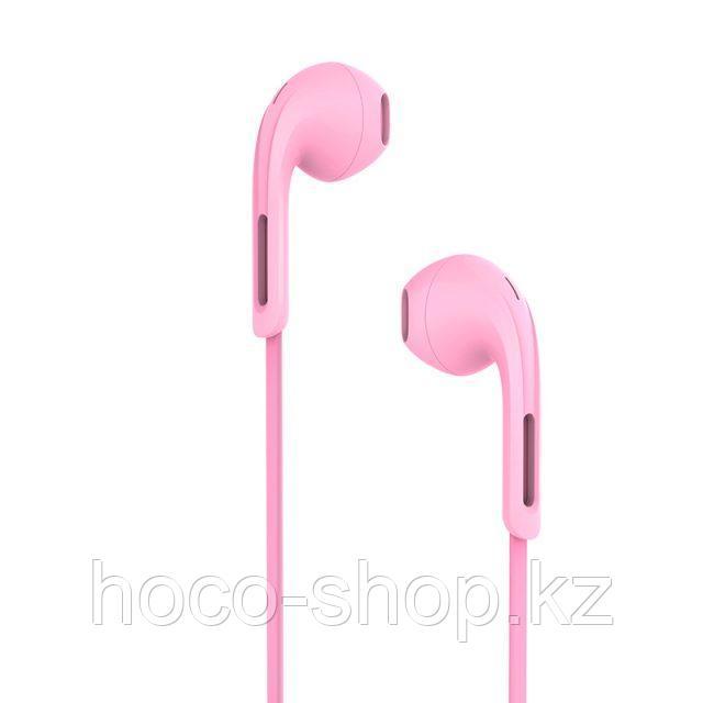 Проводные наушники M39 Rhyme sound wired earphones, Pink