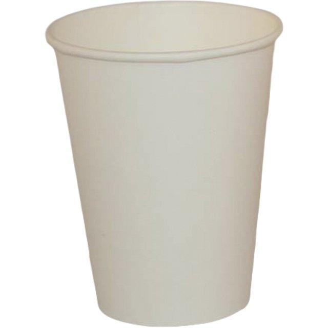 Стакан для холодных и горячих напитков, 0.3/0.364л, белый, 50 штук, 1000 шт