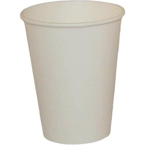 Стакан для холодных и горячих напитков, 0.3/0.364л, белый, 50 штук, 1000 шт, фото 2