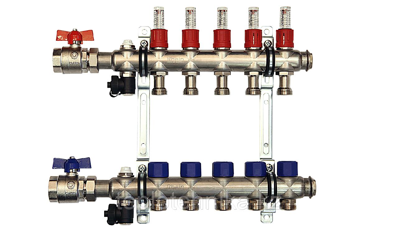 Коллектор 6 вых IMI (Швейцария)