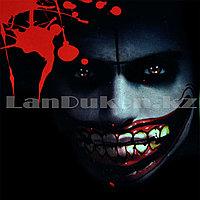 Временная татуировка на Хэллоуин в виде рта M-02