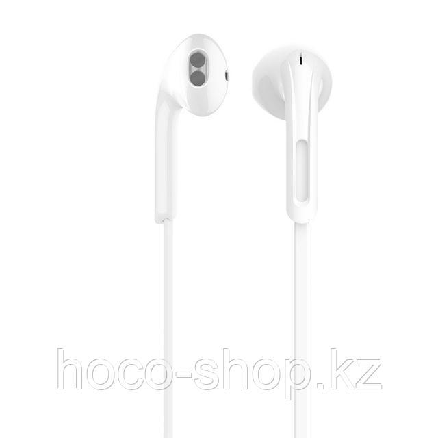 Проводные наушники M39 Rhyme sound wired earphones, White