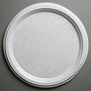 Тарелка, d 320мм, бел., ПС, 10 шт
