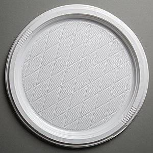 Тарелка, d 320мм, бел., ПС, 10 шт, фото 2