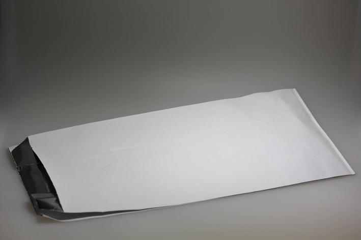 Пакеты (145+90)*310 мм на 2 кг без рис. с фольгир бум. , 1000 шт, фото 2