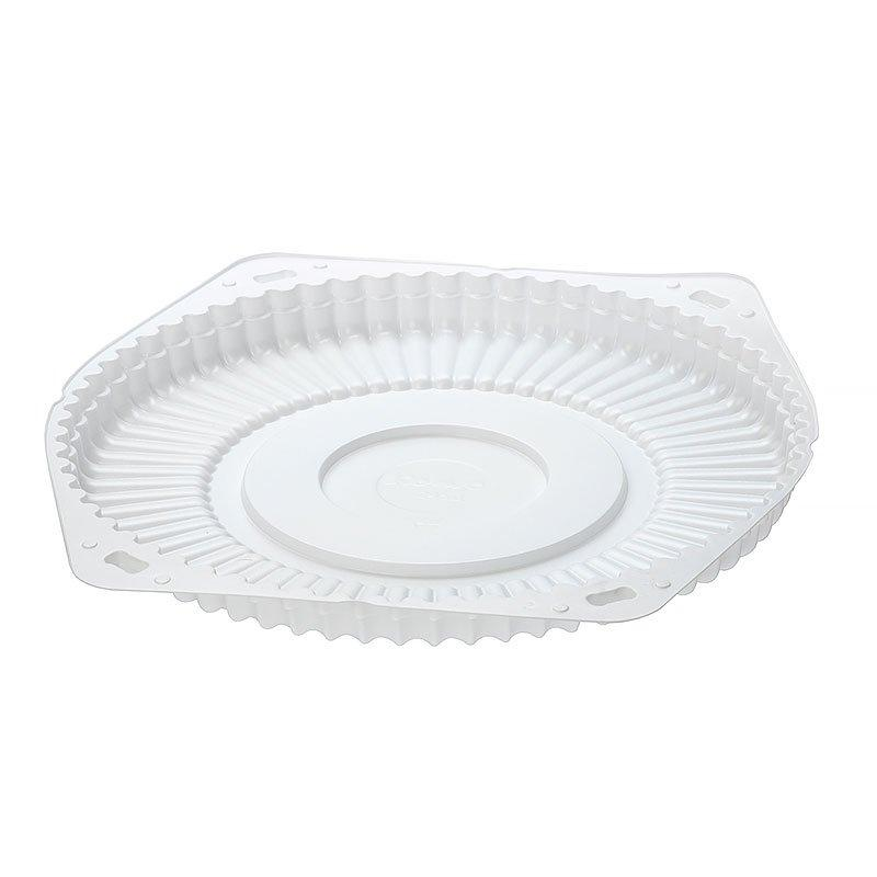 Дно д/торта, кругл., d 242мм, бел., ПС, 150 шт