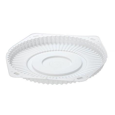 Дно д/торта, кругл., d 242мм, бел., ПС, 150 шт, фото 2