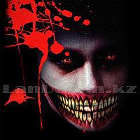 Временная татуировка на Хэллоуин в виде рта M-03