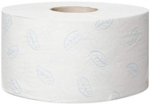 Туалетная бумага Tork Premium в мини-рулонах , 2 сл., бел., тиснение, 170м х 9.7см, 1214 л