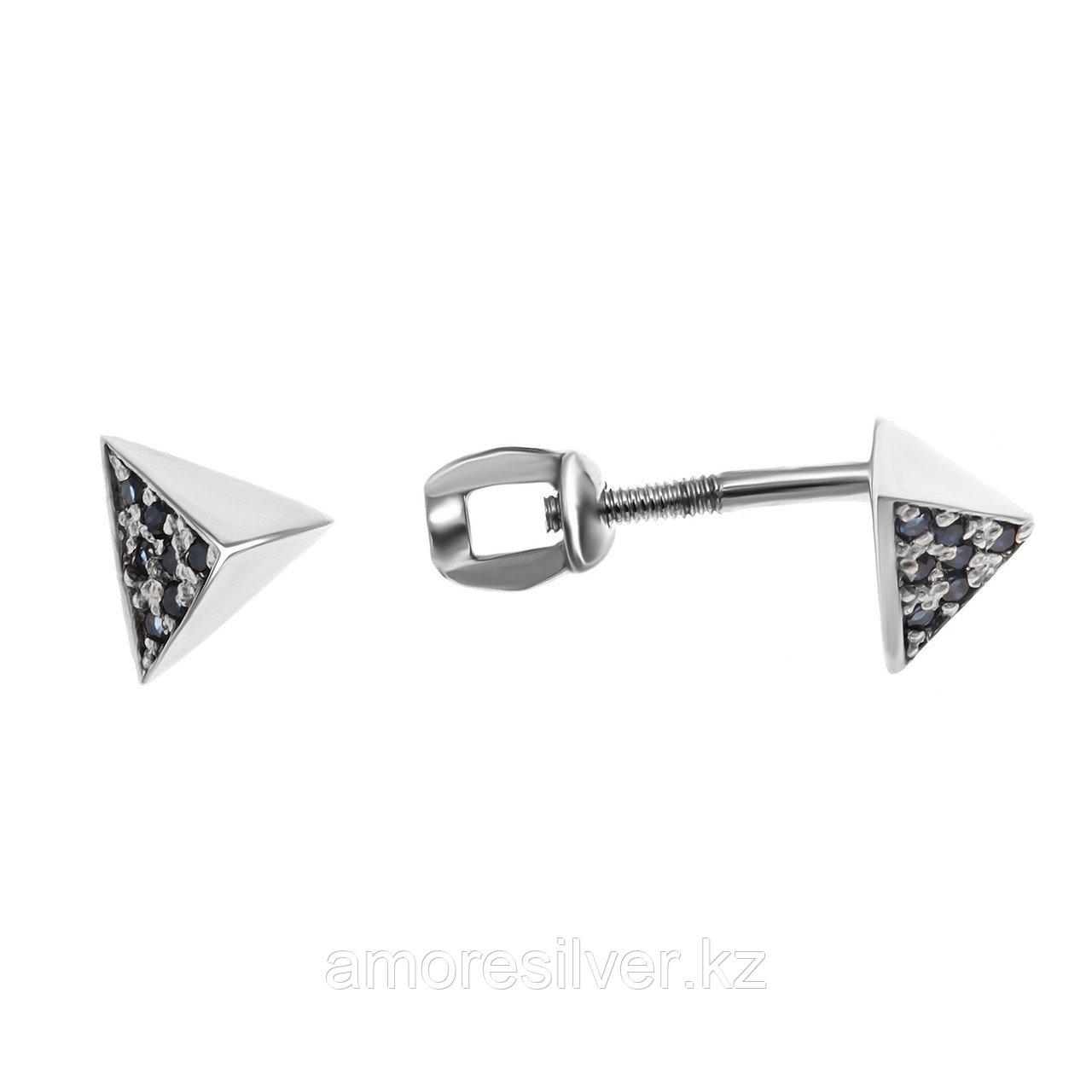 Серебряные серьги с   Teosa 121-1434-nSP