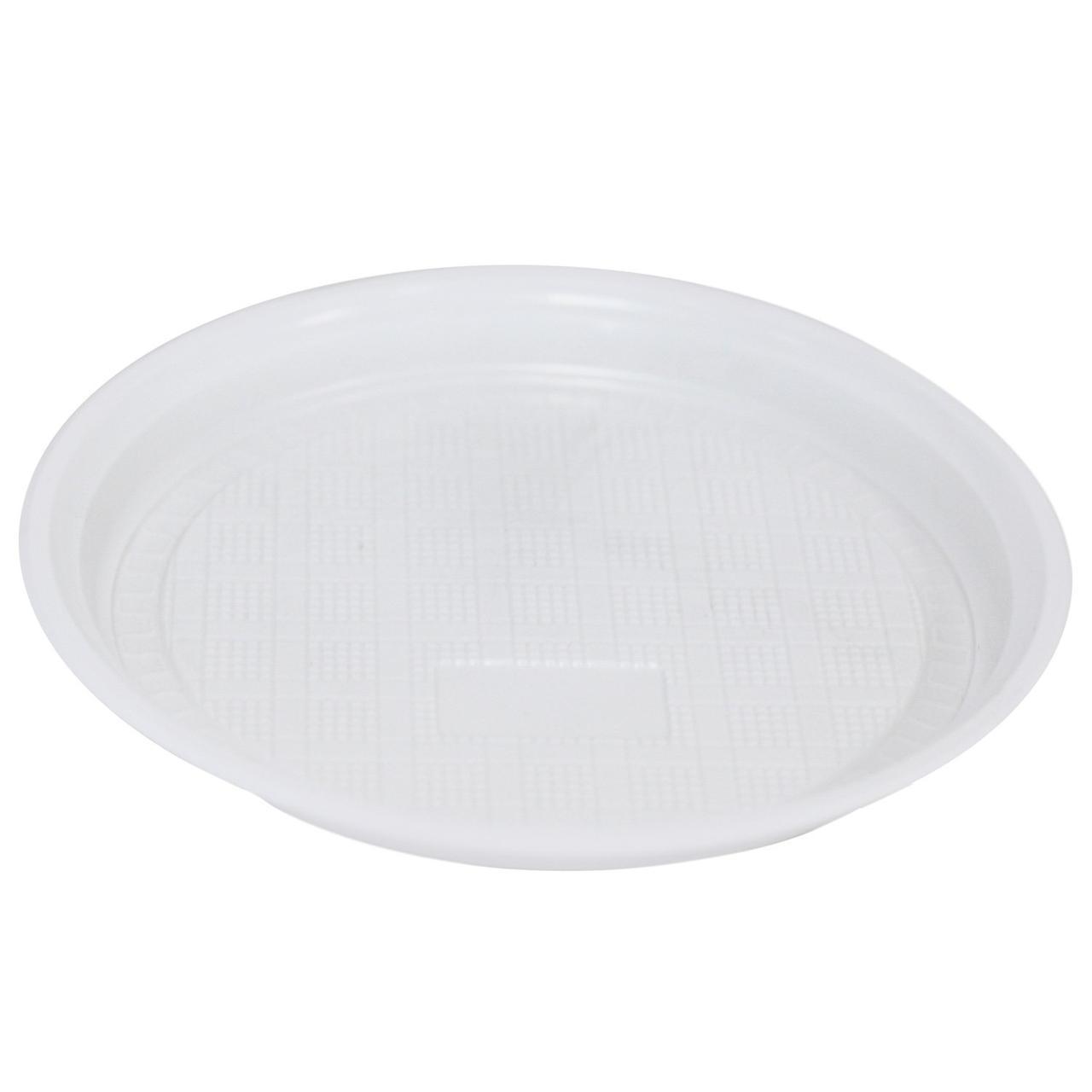 Тарелка d 205мм, бел., ПП, 2000 шт