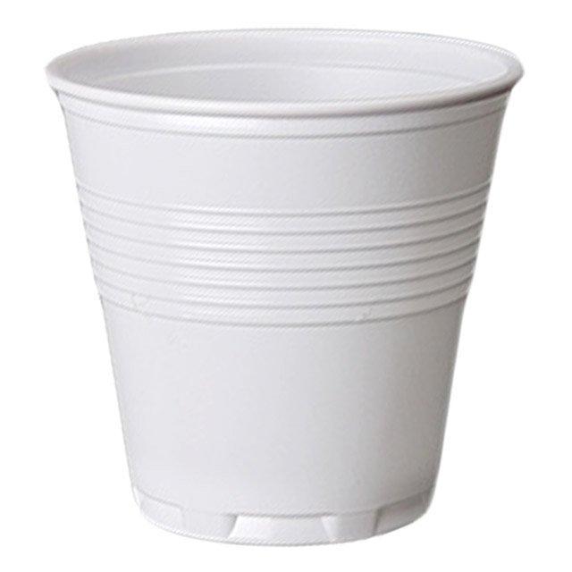 Стакан для холодных напитков, 0.08л, белый, 100 шт