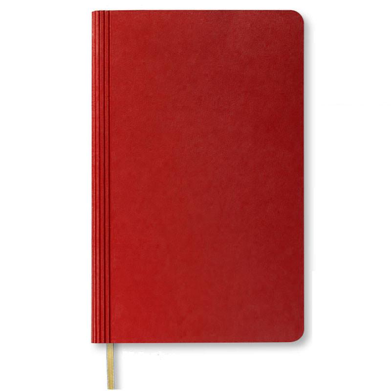Ежедневник не датированный   Santiago   красный
