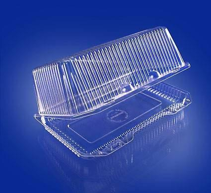 Упаковка прям. внеш. 248х158х109мм, внутр. 232х127х102мм, прозрачная, ОПС, 200 шт