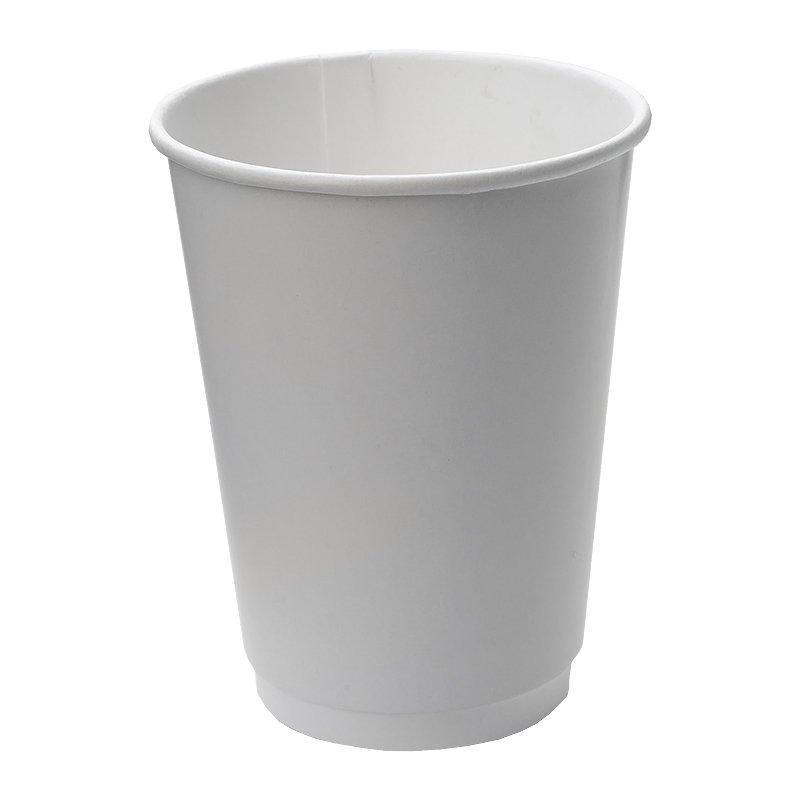 Стакан для холодных и горячих напитков, 0.3/0.364л, белый, 20 шт