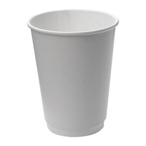 Стакан для холодных и горячих напитков, 0.3/0.364л, белый, 20 шт, фото 2