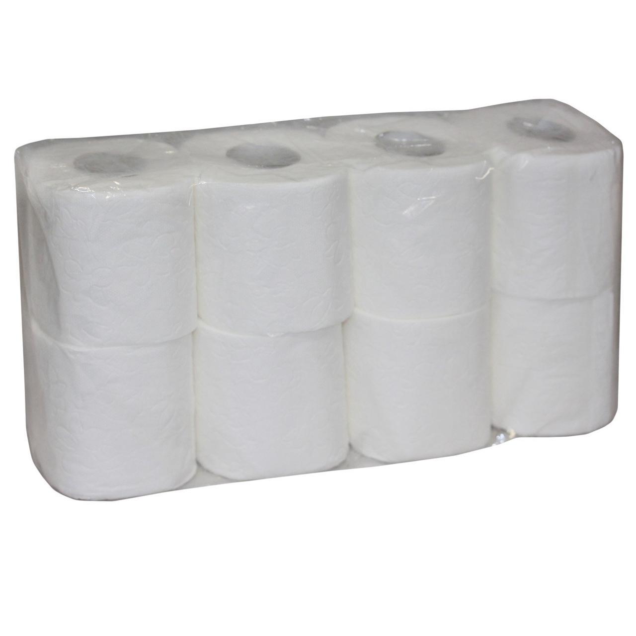 "Бумага туалетная ""Veiro Professional Premium"", 25м, 200лист/рул, 2 сл., бел., целлюлоза, 8 шт"