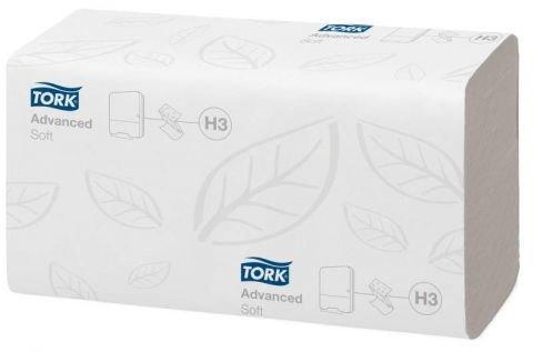 Листовые полотенца Tork Singlefold Advanced сложения ZZ, 2 сл., бел., 200 л., 200 шт